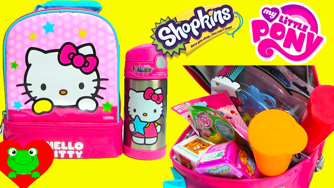 Lunch Box Surprises O Kitty Bag Filled With Like Kins