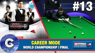 Let's Play WSC Real 11 (PS3) | World Snooker 2011 Career Mode #13: WORLD CHAMPIONSHIP FINAL!