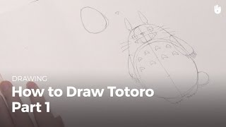 How to draw totoro (1/2)