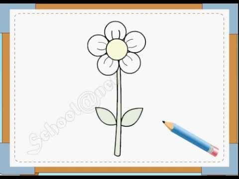 BÉ HỌA SĨ – Thực hành tập vẽ 13: Vẽ hoa