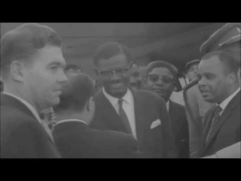 Patrice Lumumba Arrives in New York For Talks With UN Chief Dag Hammarskjöld | 1960