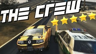 The crew: 5 star police chase gameplay!! (the crew 5 star wanted level)