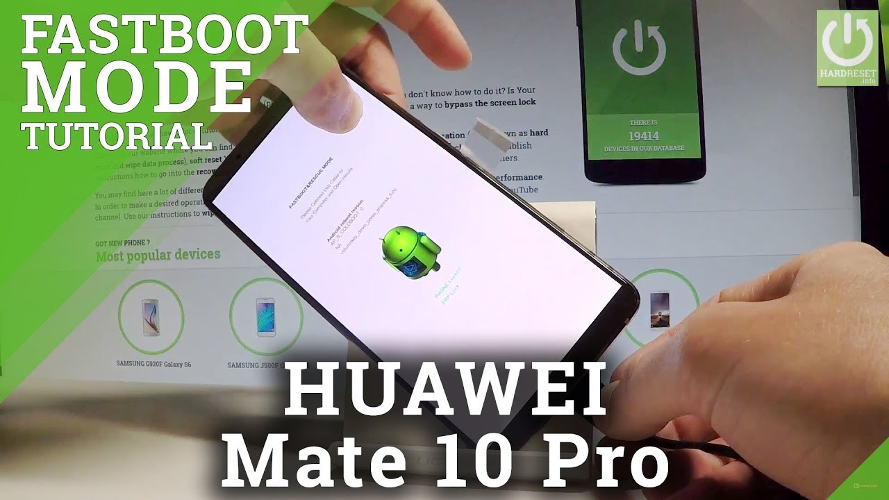 Fastboot Mode in HUAWEI Mate 10 Pro - Fastboot & Rescue Mode
