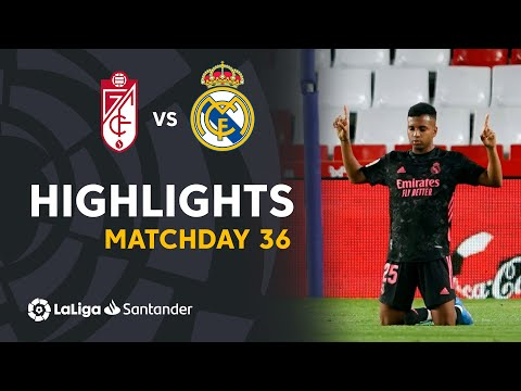 Resumen de Granada CF vs Real Madrid (1-4)