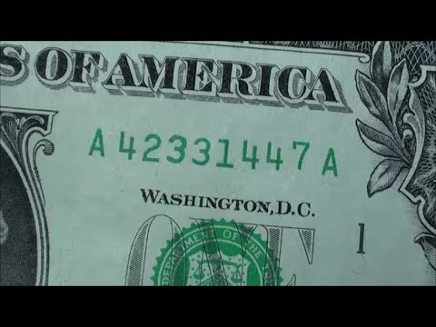 $1 PRINTING ERROR on 2013 one dollar bill