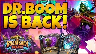 THE BOOMSDAY PROJECT! NEW HEARTHSTONE EXPANSION EXPLAINED - NEW MECHANICS AND CARDS REVEALED!