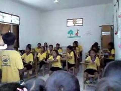 East timor kids singing 2