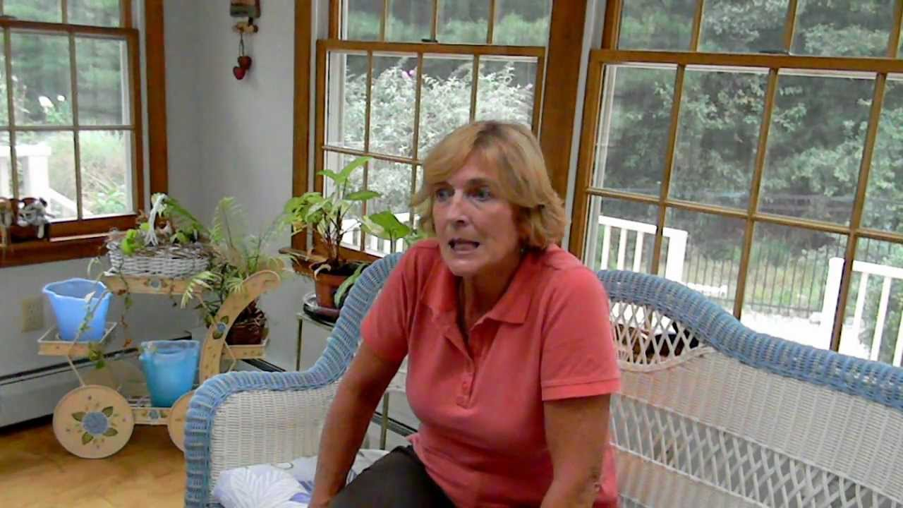 Interview with Sharon Pelser, Exeter, RI, part 2 - YouTube