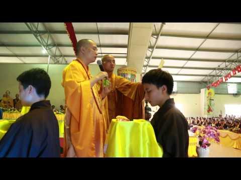 Đại Lễ Vu Lan Báo Hiếu Và Lễ Thế Phát Xuất Gia 2014 - Chùa Khai Nguyên