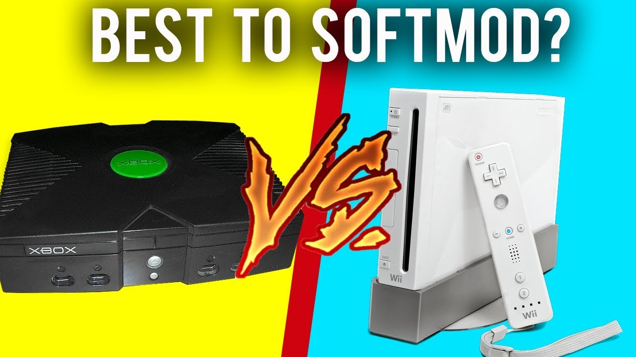 Best Console to Softmod in 2019 - 1 Year After Modding (Original Xbox vs  Wii)