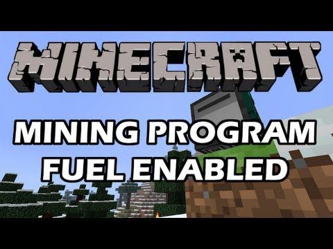 Feed The Beast: Turtle Program! Mining: Fuel Enabled! (ComputerCraft)