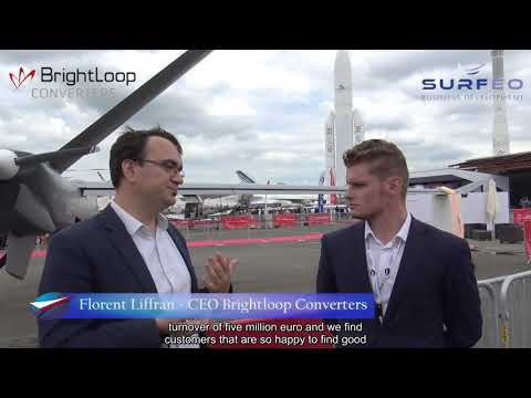Paris Air Show 2019 - Brightloop Converters