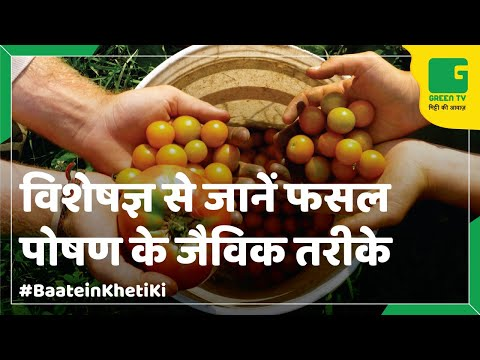 Crop Nutrients In Organic Farming In Baatein kheti Ki On Green TV