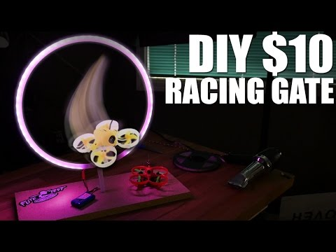 DIY $10 Drone Racing Gates | Flite Test