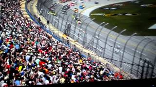 Most exciting part of Talladega Danica Patrick
