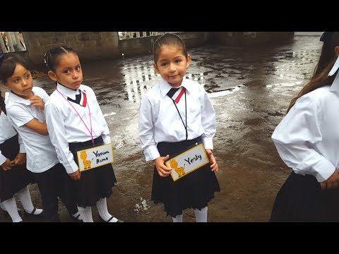 PRIMER DÍA DE CLASES DE YESLY EN 1º DE PRIMARIA