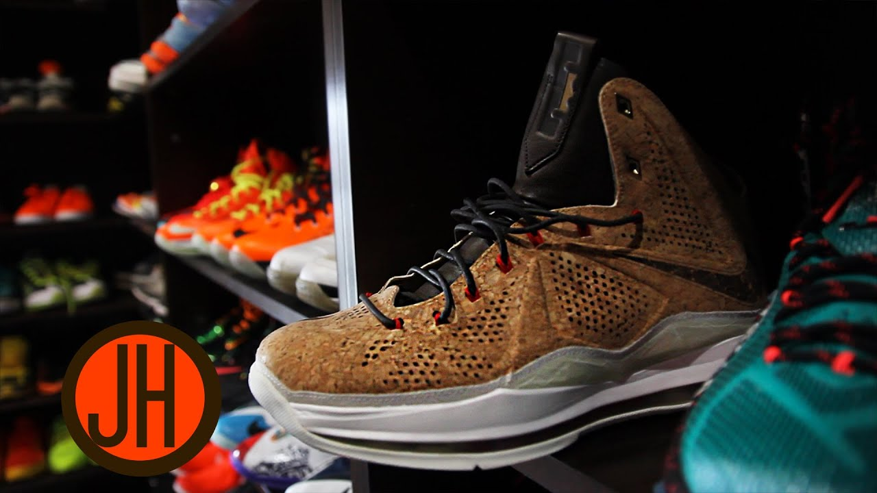 Joe Haden Sneaker Closet Tour