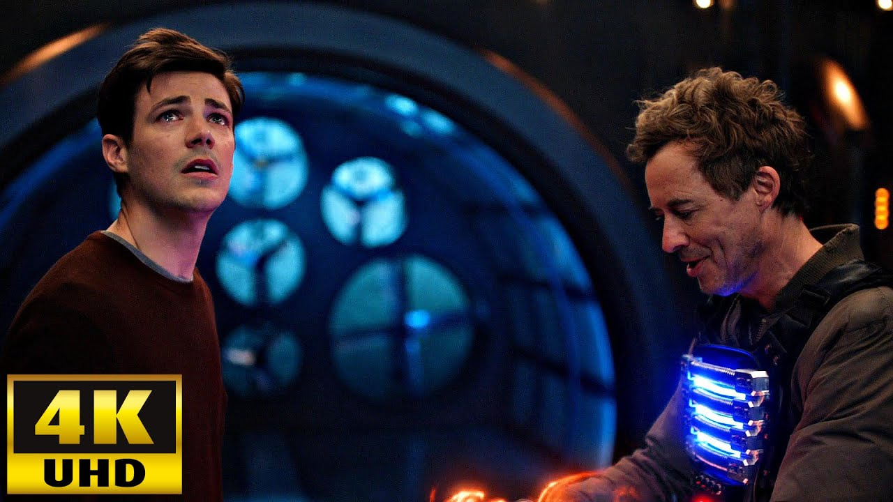 Download The Flash 7x01 Nash Wells Sacrifice for Barry's Speed [4K UHD]