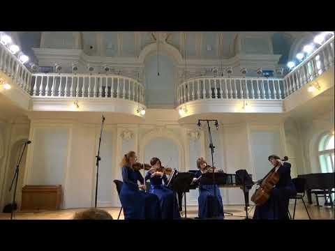 АНТОН ВЕБЕРН  «Langsamer Satz» для двух скрипок, альта и виолончели