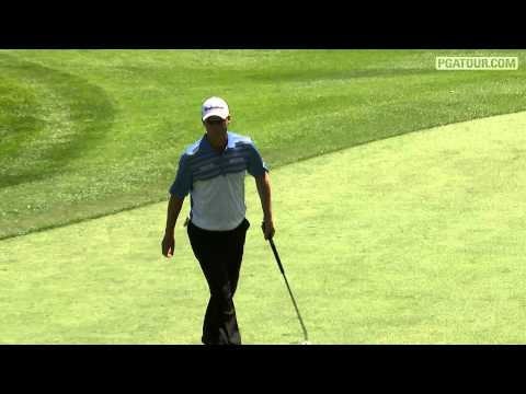 John Senden makes amazing birdie putt at Valspar