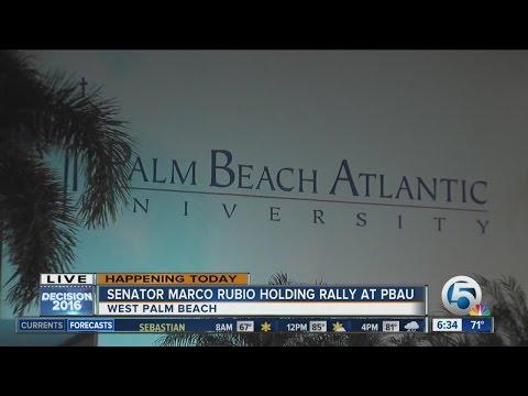 Sen. Marco Rubio holding event Monday at Palm Beach Atlantic University