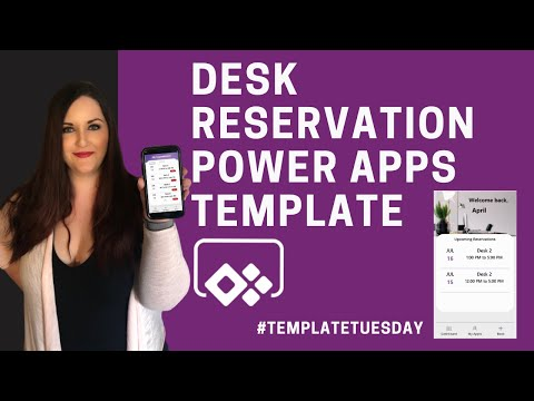 Desk Booking & Reservation Power Apps Template