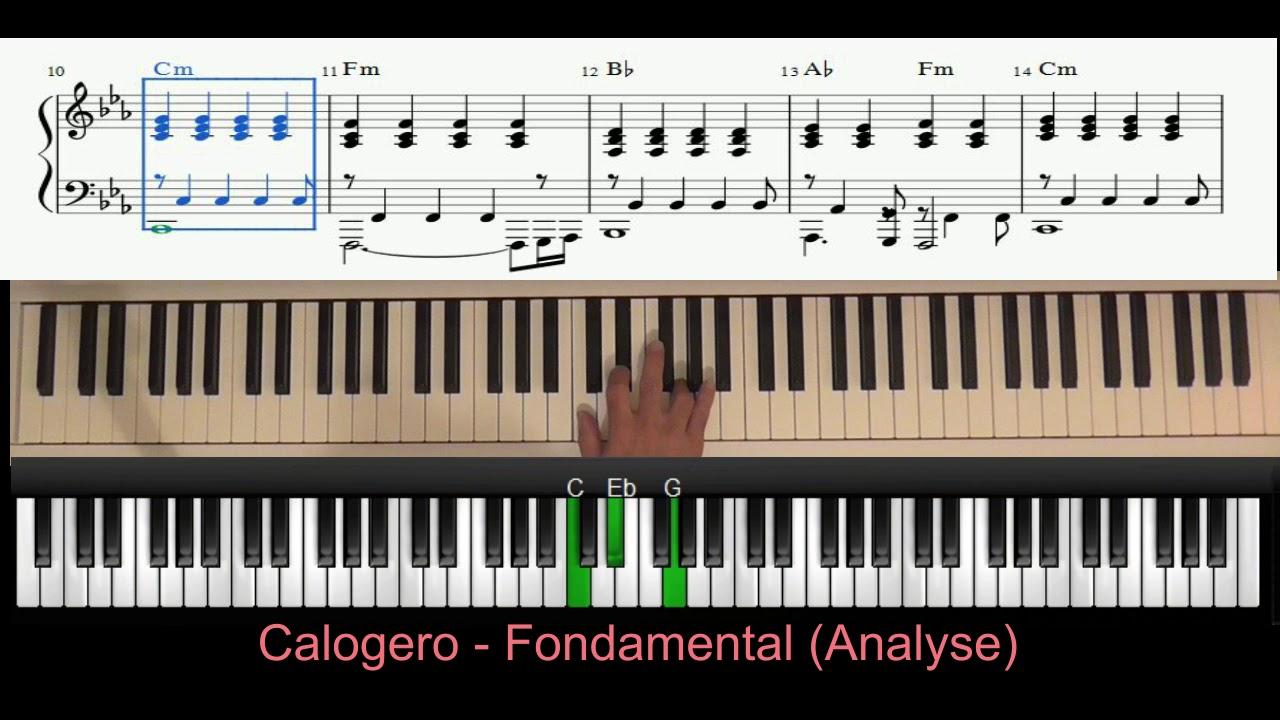 calogero fondamental piano tutoriel youtube. Black Bedroom Furniture Sets. Home Design Ideas