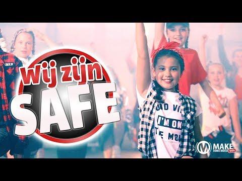 Make Some Noise Kids - Wij zijn safe (Officiële videoclip)