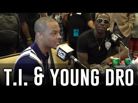 T.I. & Young Dro in The BET Awards Radio Room w/ Dj A-Oh