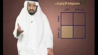 مصفوفة الأولويات (تقسيم الوقت) د.طارق السويدان
