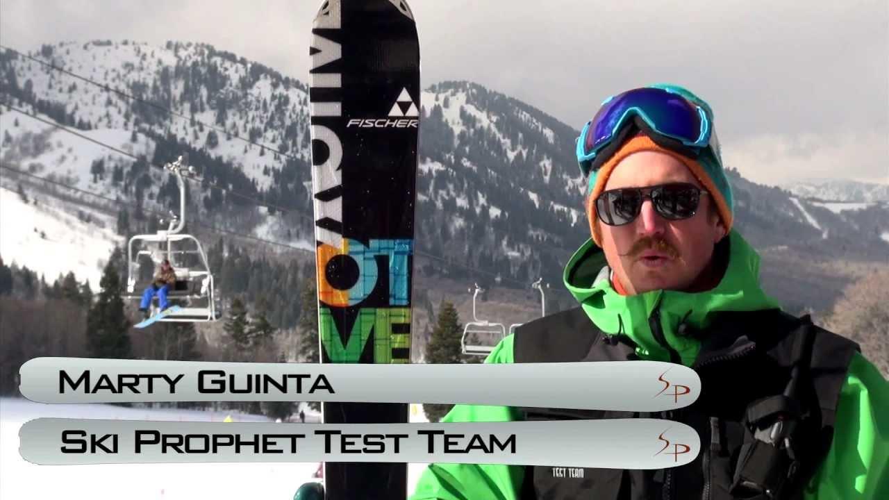 2013 fischer motive 80 ski test with marty guinta youtube. Black Bedroom Furniture Sets. Home Design Ideas
