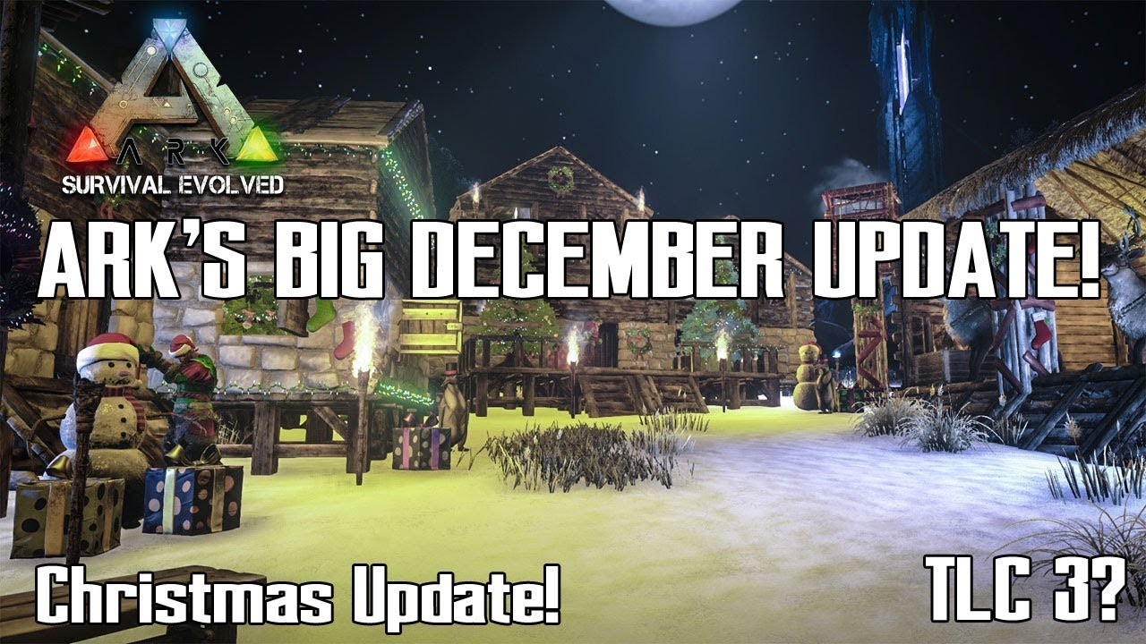 Ark Survival Evolved Christmas Event.Ark S Huge December Update Christmas Event Tlc 3 And More