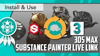 [3DS MAX] SUBSTANCE PAINTER Live Link Installation and Use Guide