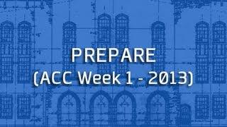 Blue Print: Prepare
