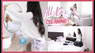 ALL DAY CLEANING MOTIVATION CLEAN WITH ME FOR THE ENTIRE DAY!
