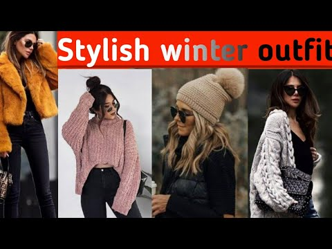 How to style yourself in winter || winter style ideas || winter fashion design/winter dress design