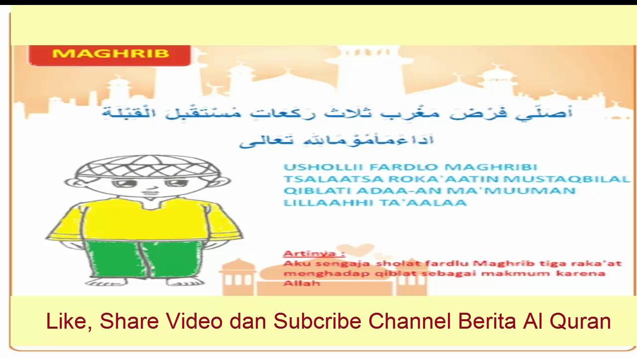 Animasi Panduan Belajar Wudhu Dan Sholat YouTube