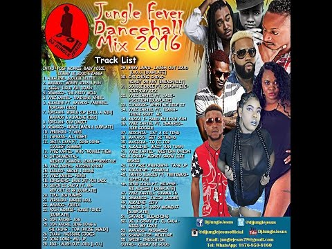 ♪Jungle Fever Dancehall Mix MARCH  2017Vybz...