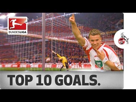 Top 10 Goals - 1. FC Köln