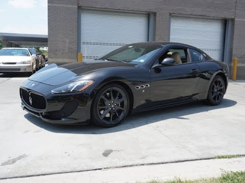 2013 Maserati Granturismo Test Drive - YouTube