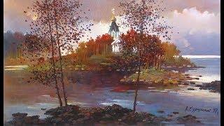 Валаамский монастырь (худ. Куршин Анатолий)