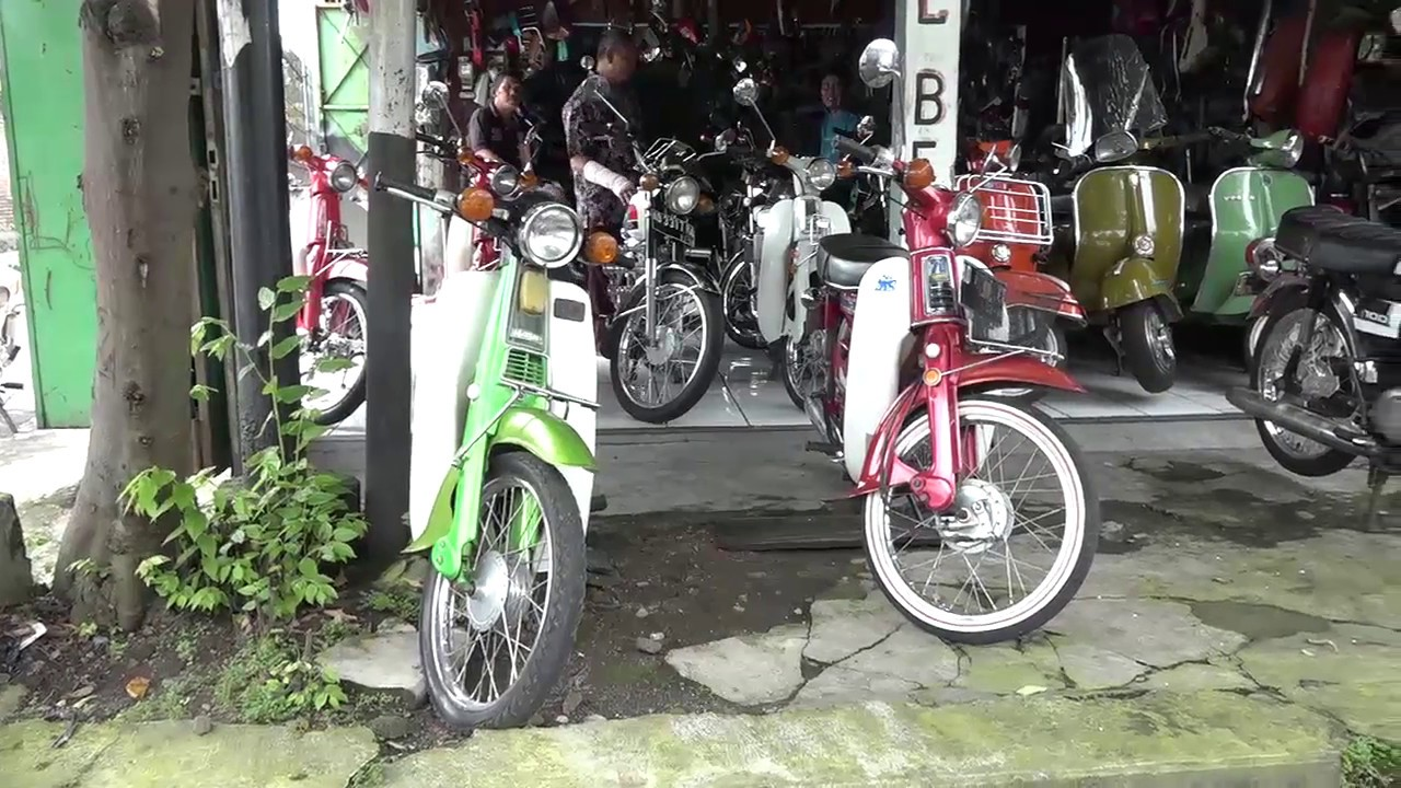 Dealer Jual Beli Motor Tua Youtube