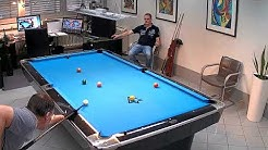 Pool Billard Match 9 Ball auf 30  / Götz vs. Vier  / Götz 13 vor