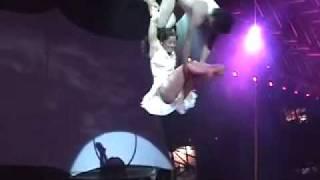 Karen Bernal y Armando Perez. Circo Sentido