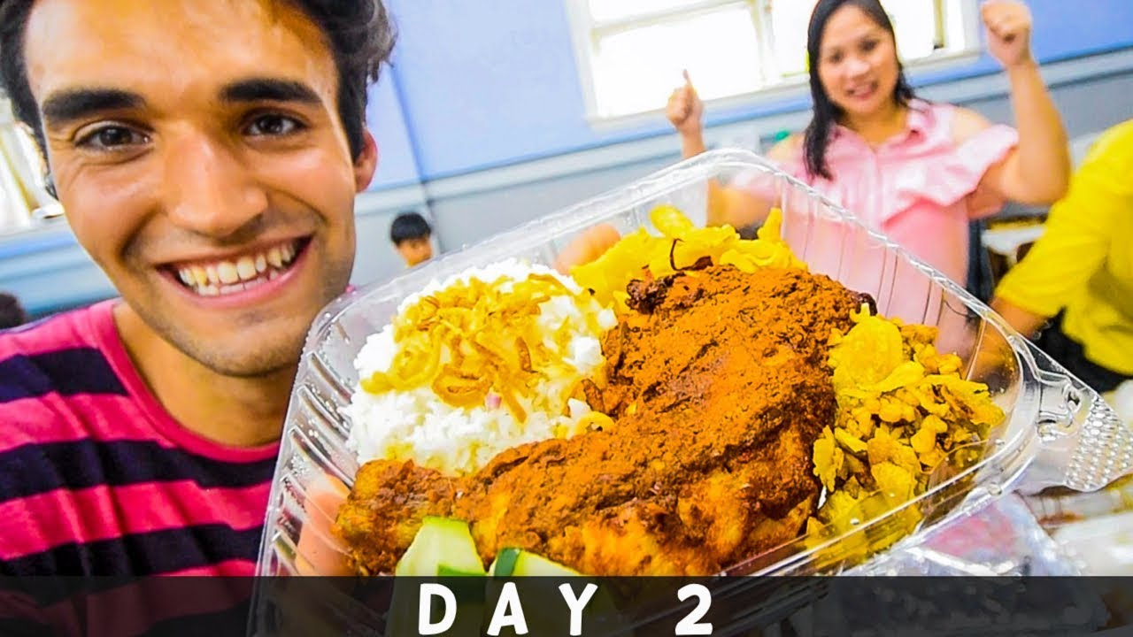 LIVING on STREET FOOD for 24 HOURS in NYC! (Day #2)