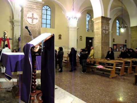 Via Crucis - Siderno Superiore (RC): Canto della XIV stazione
