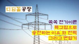 (전기이론) 특고압으로 송전하는 이유와 전력, 그리고 …