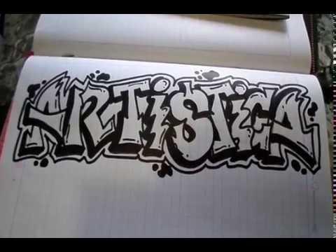 Decoraciones Para Letras De Graffitis