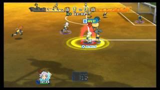 Inazuma Eleven Strikers 2012 Xtreme Raimon B vs Raimon A ep.127( Hard 3 stars )