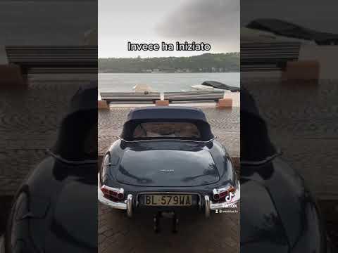 In Jaguar sul Lago di Garda? Peccato il meteo…